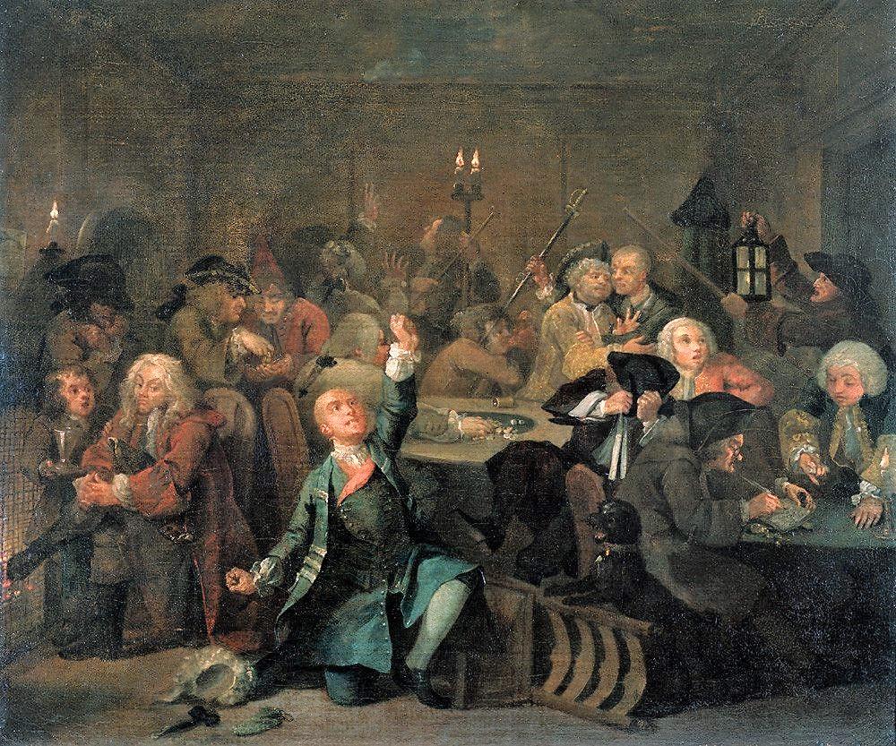 A Rake's Progress, 1733 Wikimedia Commons
