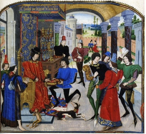 Illustration from A History of Alexander the Great by Loyset Liedet, c.1470