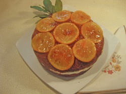 ORANGE  YOGURT  CAKE     recipe
