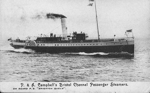 Th e Brighton Queen. Owner P&A Campbell Ltd, Shoreham.