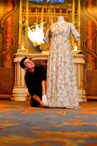 Martin Pel and Regency Dress Photograph by Jim Holden