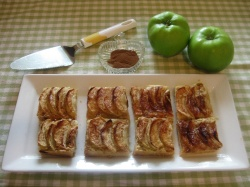 APPLE SQUARES recipe