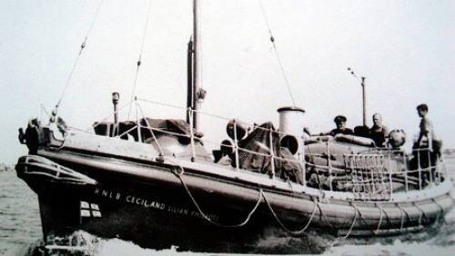 RNLB Cecil and Lilian Philpott, the Newhaven Lifeboat. Her