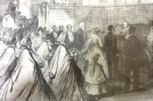 Details of the extravagant wedding were publicised in the Illustrated London News (23 August 1862) and The Times (15 August 1862). The wedding service was conducted by Rev Henry Venn who was the honorary secretary of the Christian Missionary Society in London. Image - Black-history.org.uk